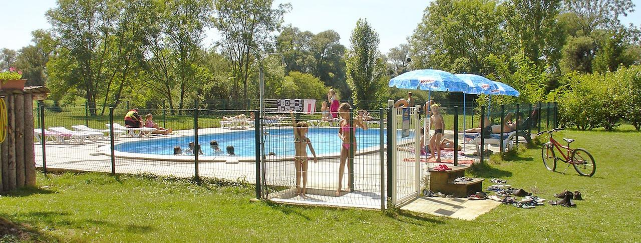 Camping les Trois Ours, Montbarrey, Jura