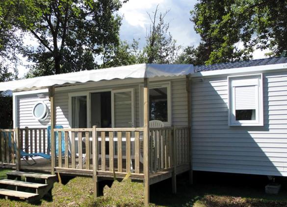 Location - Mobil-Home Allanche De 35M² (3 Chambres) Avec Tv - - Flower Camping Le Belvédère