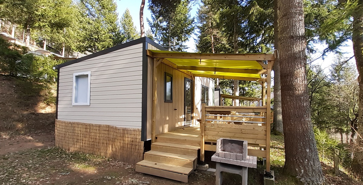 Location - Mobil-Home L'epie De 29M² (2 Chambres) Avec Tv - - Flower Camping Le Belvédère