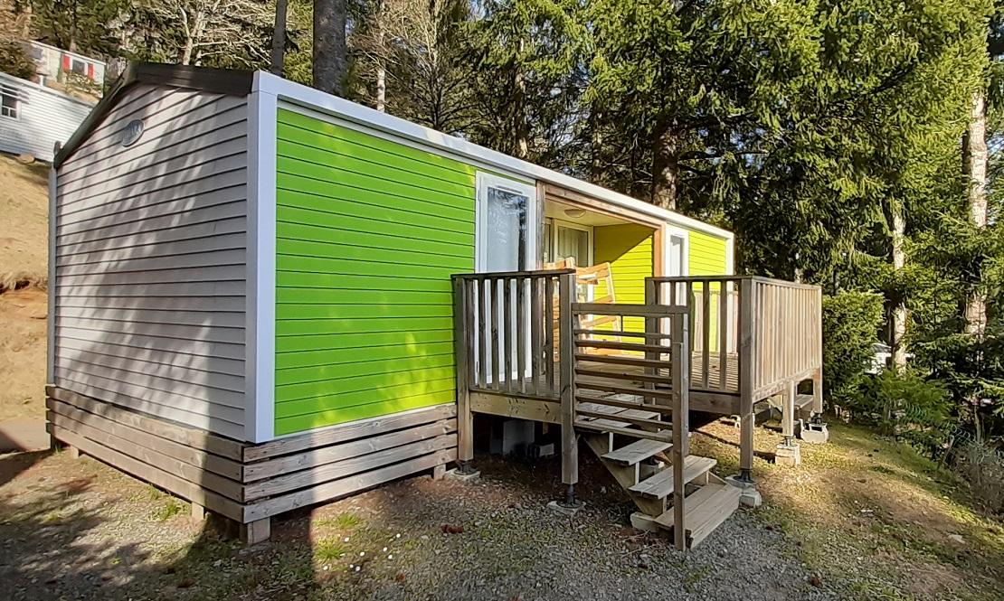Location - Mobil-Home Maronne De 34M² (2 Chambres /2 Salles D'eau/Wc) Avec Tv - - Flower Camping Le Belvédère