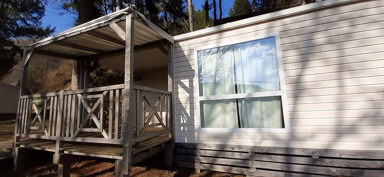 Location - Mobil-Home Sumene De 25M² (2 Chambres) - Flower Camping Le Belvédère
