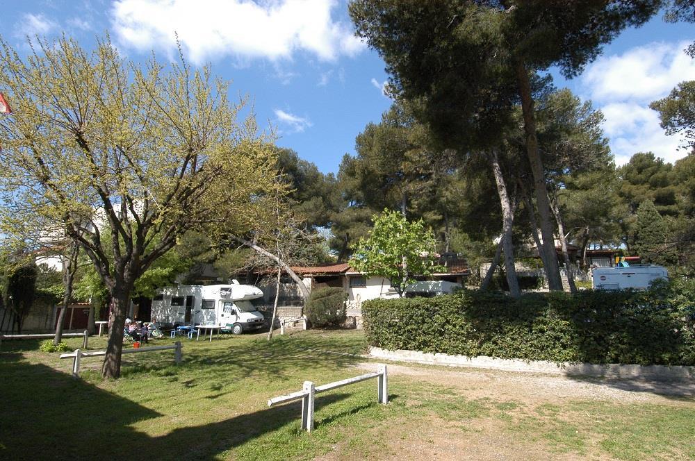 Camping Parc des Maurettes, Villeneuve-Loubet, Alpes-Maritimes