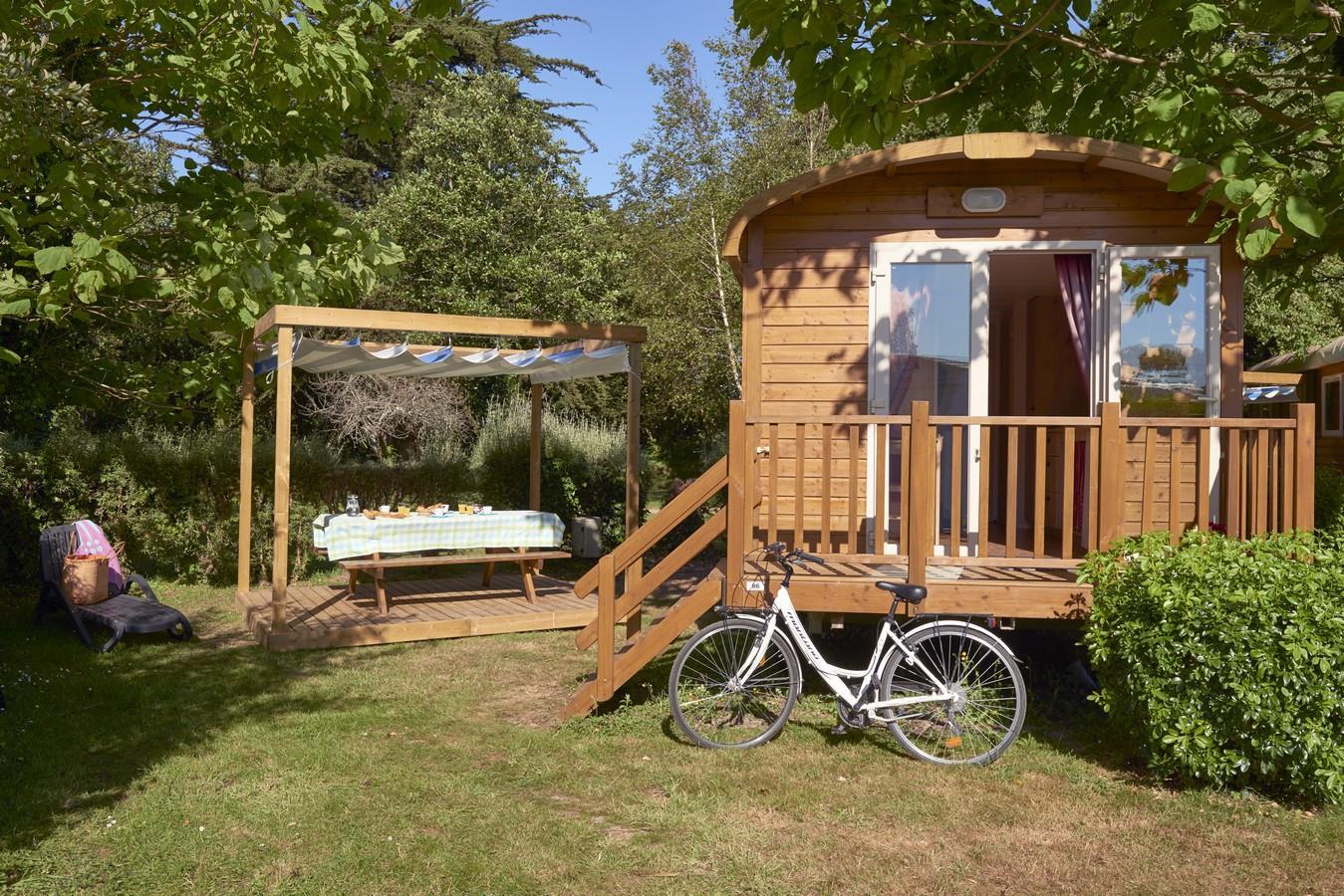 Camping la Plage de Cleut Rouz, Fouesnant, Finistère
