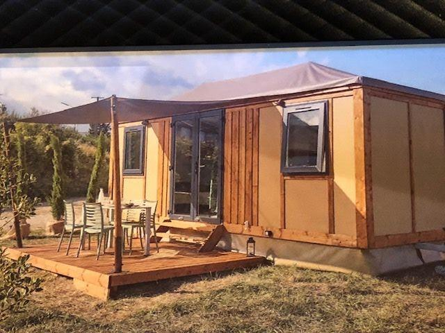 Accommodation - Mobile-Home Corfou 15.20M² + Sheltered Terrace 9.40M² ( Without Toilet Blocks) - Idéal Pour 2 - - Camping La Chatonnière
