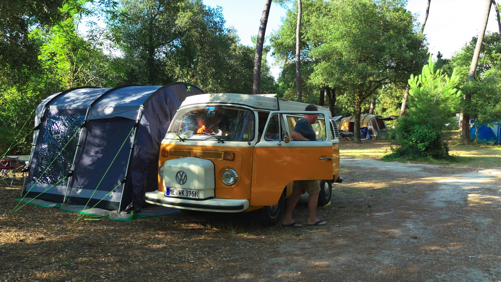 Emplacement - Emplacement Camping Confort - Huttopia Oléron Les Pins