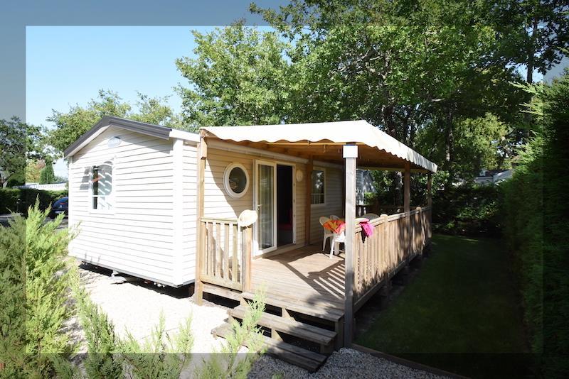 Location - Mobilhome Confort+ 32M² (3 Chambres) Dimanche - Camping Bimbo