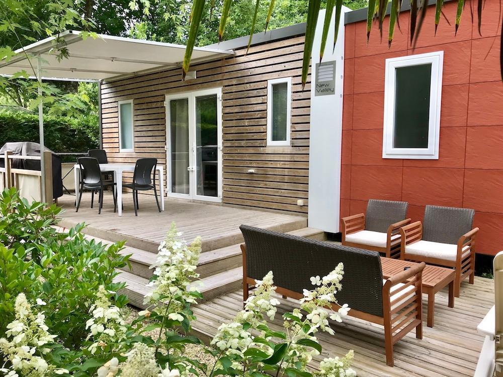 Location - Castelot Premium 36M² (2 Chambres) - 2 Salles D'eau + Clim Dimanche - Camping Bimbo