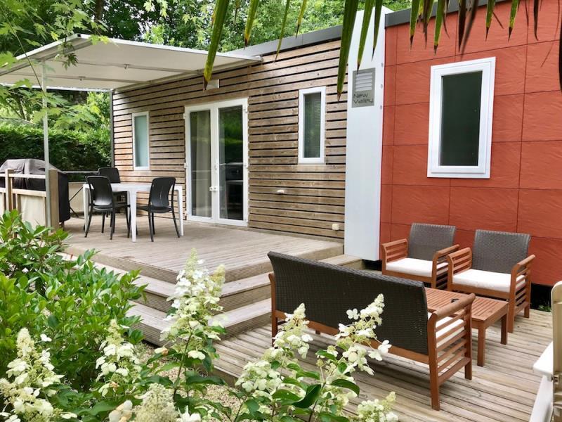 Location - Castelot Premium 36M² (2 Chambres) - 2 Salles D'eau + Clim - Camping Bimbo