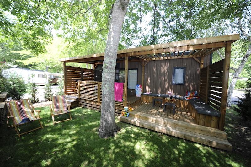 Location - Mobilhome Privilège 29M2 (2 Chambres) Climatisation - Camping Bimbo