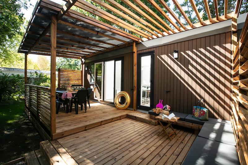Location - Mobil Home Privilège 33M² (3 Chambres) - Camping Bimbo