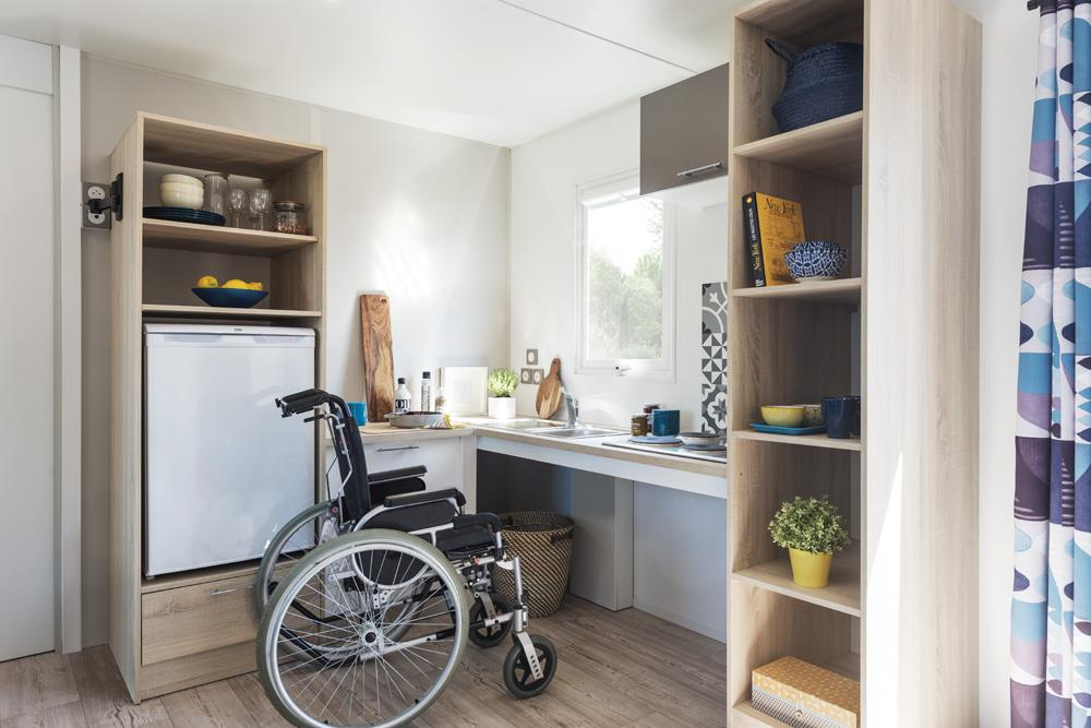 Location - Vacances Pmr 2 Chambres 34M² - Camping Le Cabellou Plage