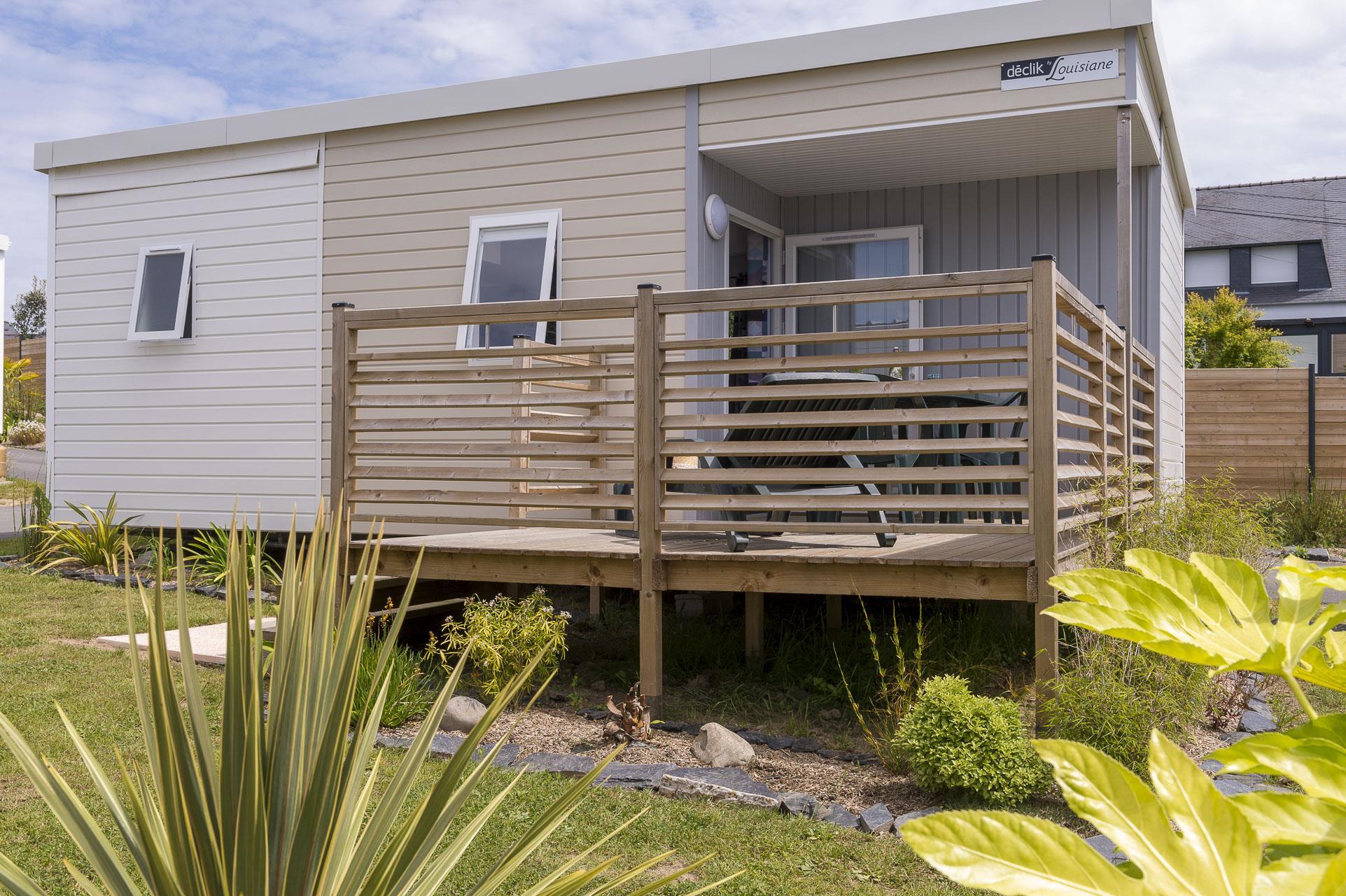 Location - Confort+ Belle-Ile 2 Chambres 25M² - Camping Le Cabellou Plage