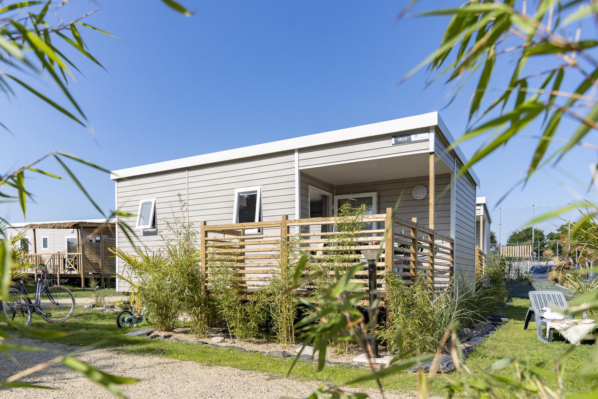 Location - Évasion Groix 2 Chambres 25M² - Camping Le Cabellou Plage