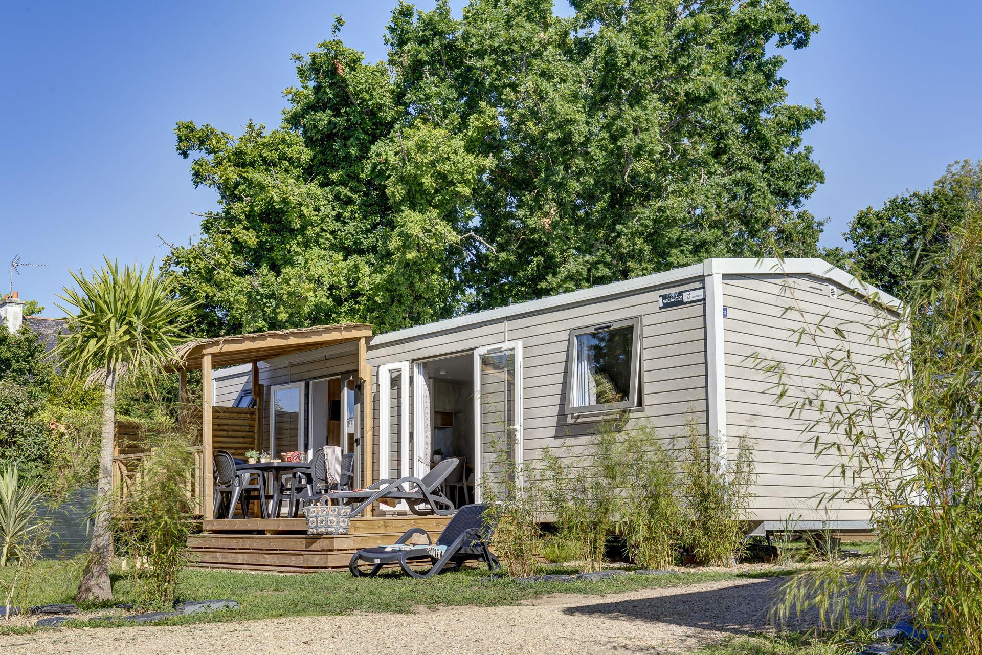 Location - Prestige Cabellou 3 Chambres 2 Salles De Bain 40M² - Camping Le Cabellou Plage