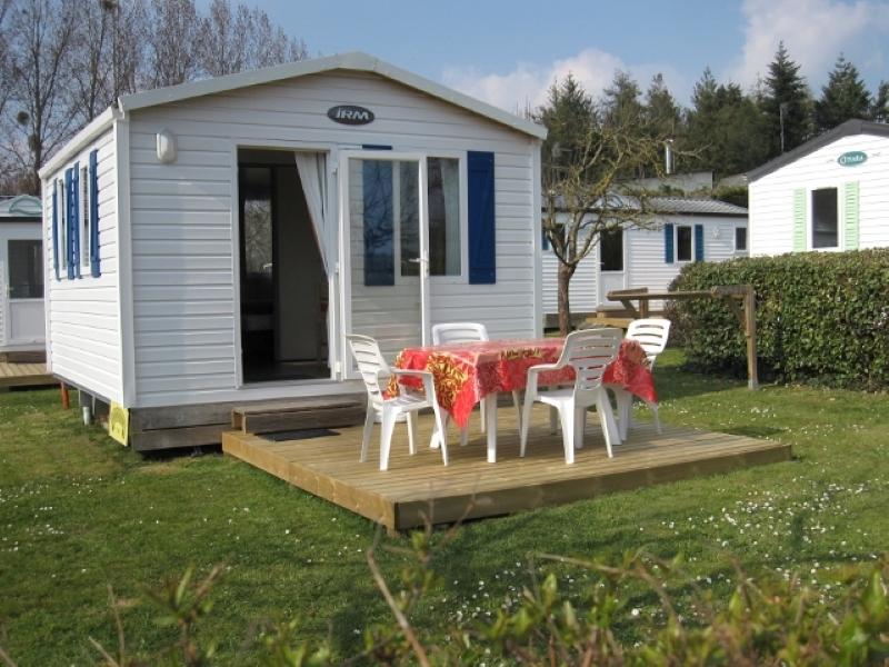 Location - Mobil-Home 'Chevalier Yvain' 1 Ch - Camping La Vallée du Ninian