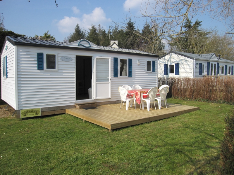 Location - Mobil-Home 'Chevalier Gauvain' 2 Ch + Convertible - Camping La Vallée du Ninian