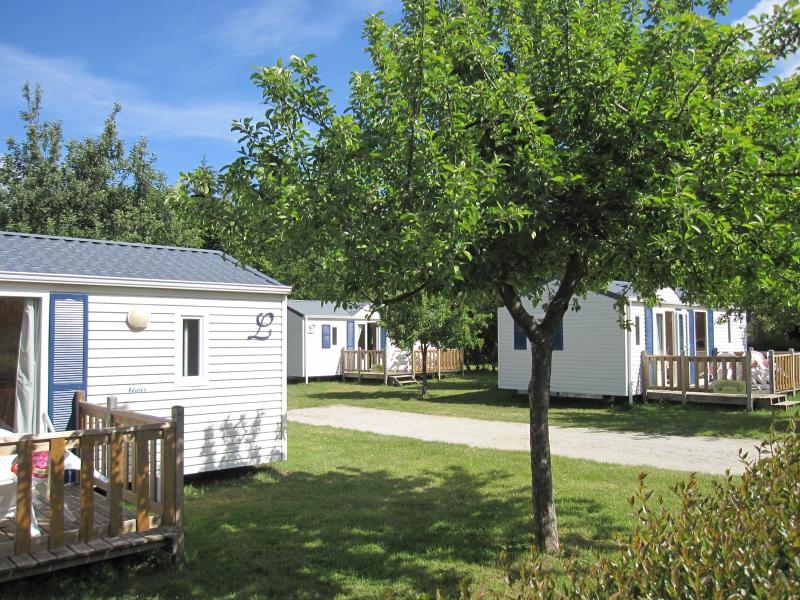 Location - Mobil-Home 'Chevalier Lancelot' 2 Ch + Convertible - Camping La Vallée du Ninian