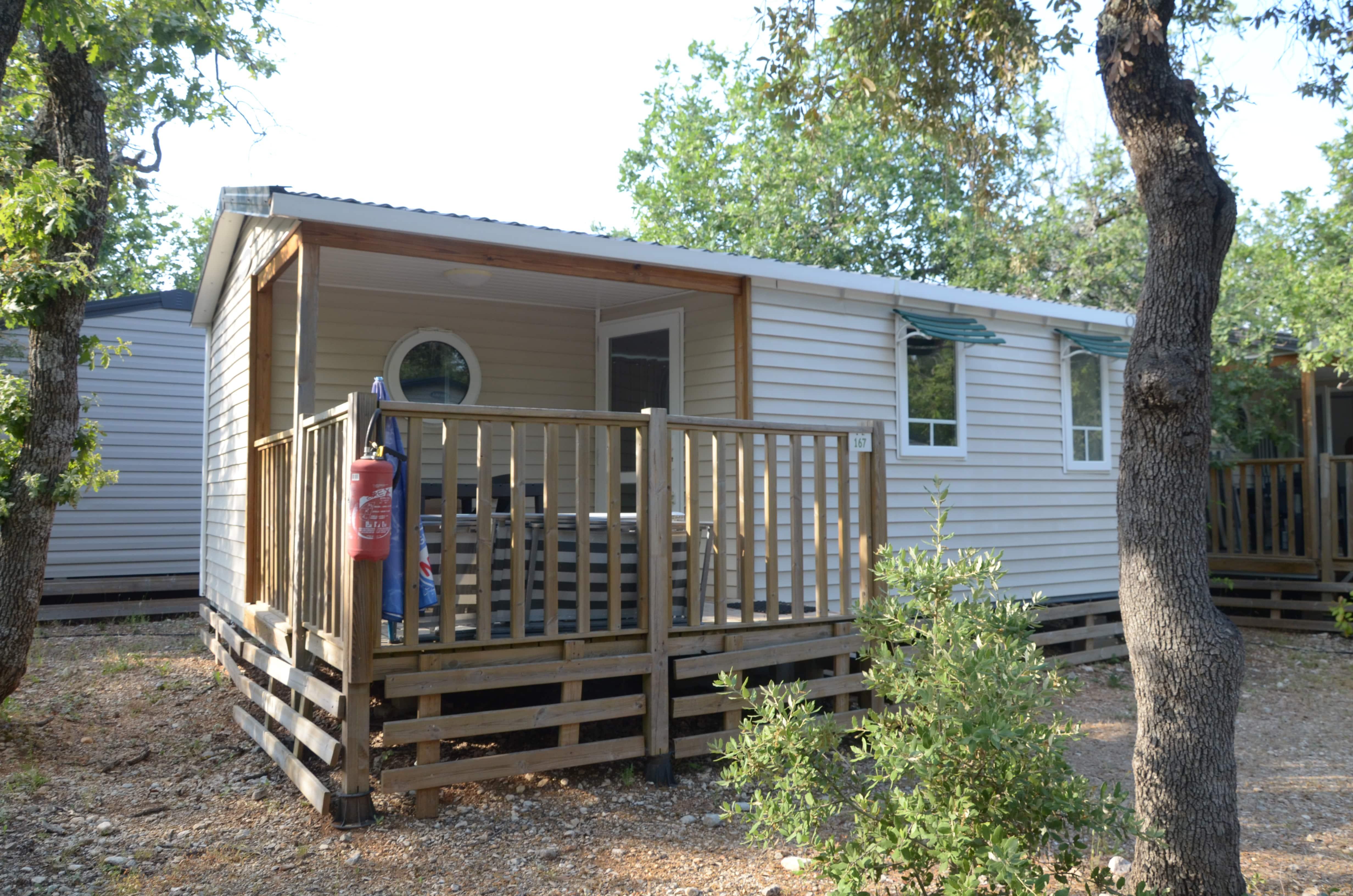 Location - Mobilhome Confort+ - Camping Les Chênes Blancs