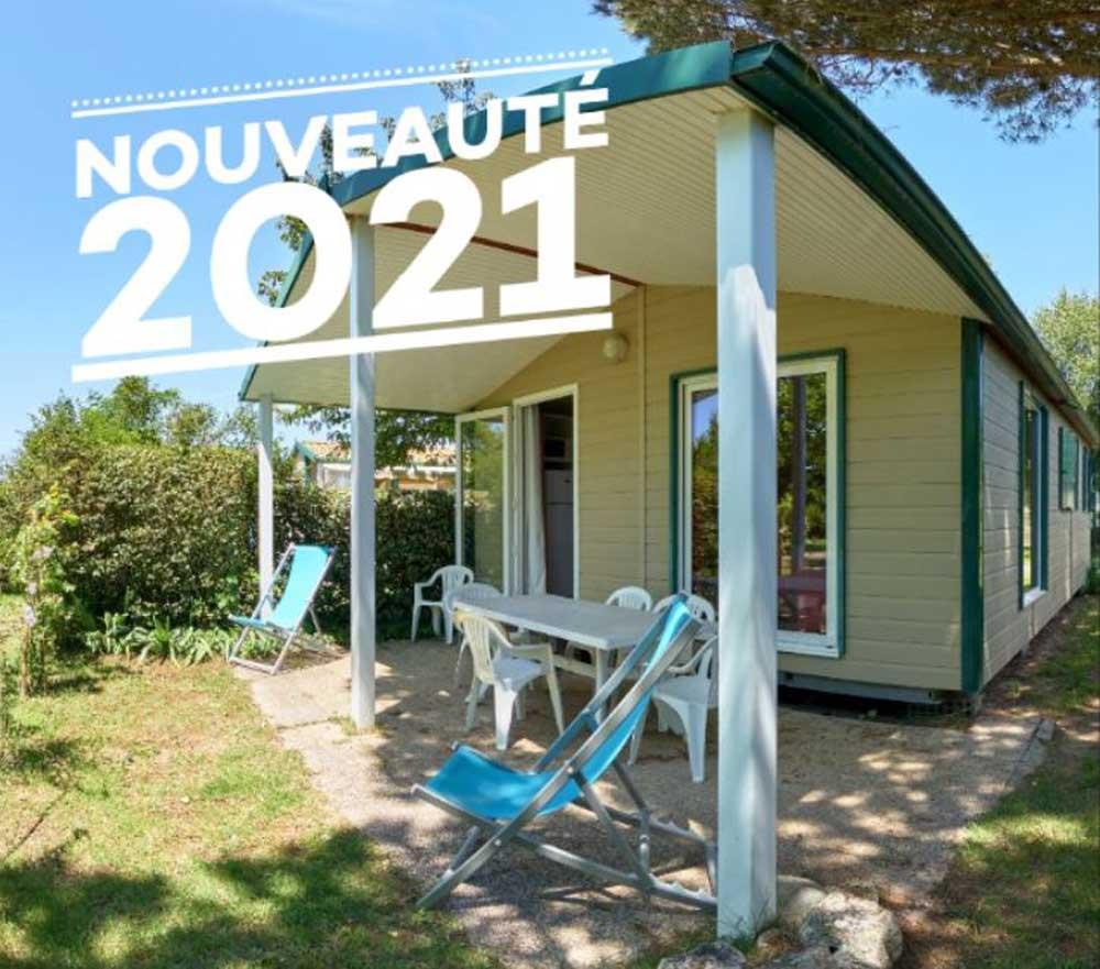Location - Chalet Family Prestige 3 Chambres Clim - Camping La Brande