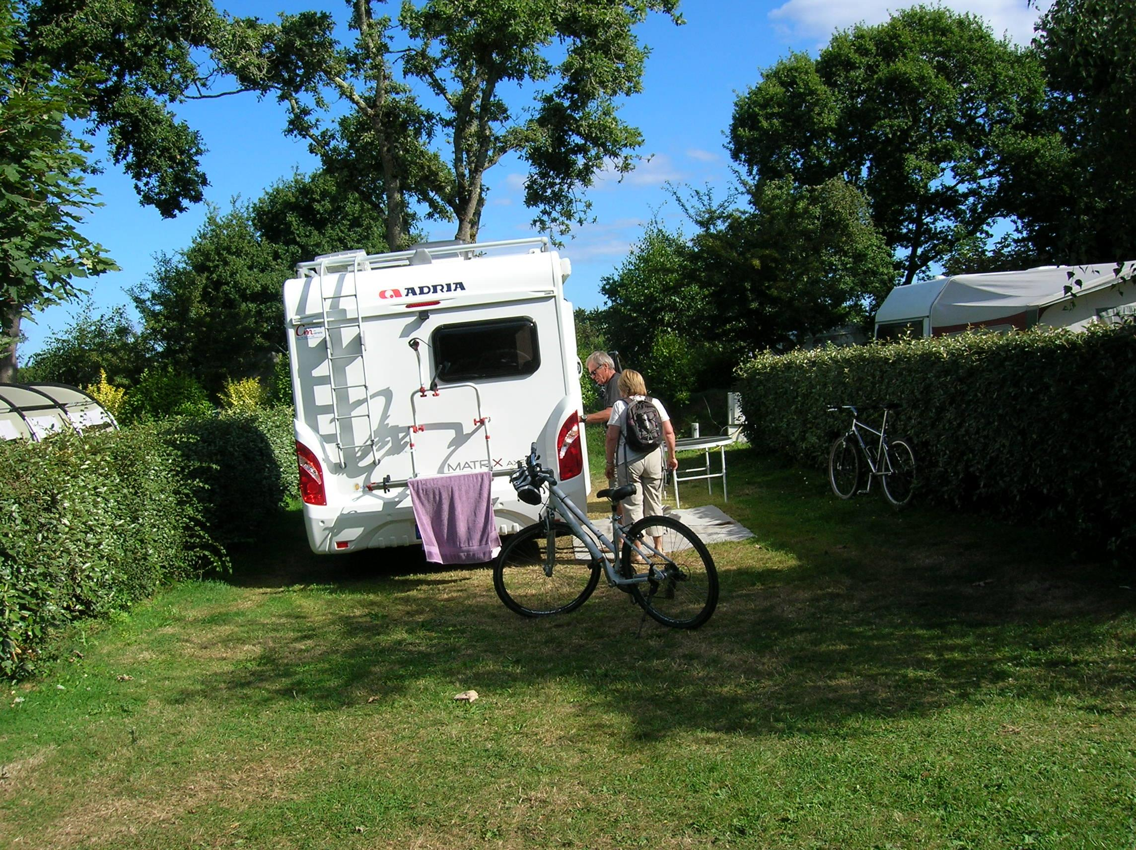 Camping les Chaumieres, Nevez, Finistère