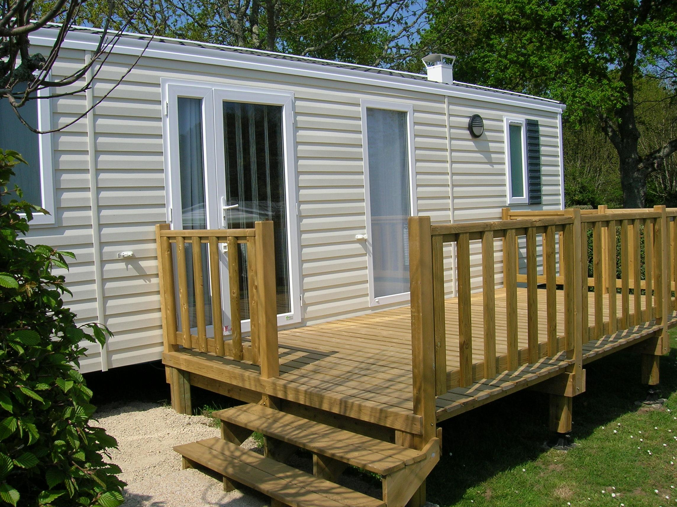 Location - Mobil-Home Nirvana 31 M² - 2 Chambres - Camping Des Chaumières