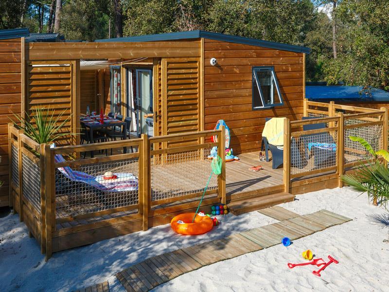 Location - Cottage Prestige Avec Jacuzzi Privatif - 90M² - 2 Chambres - Camping Signol