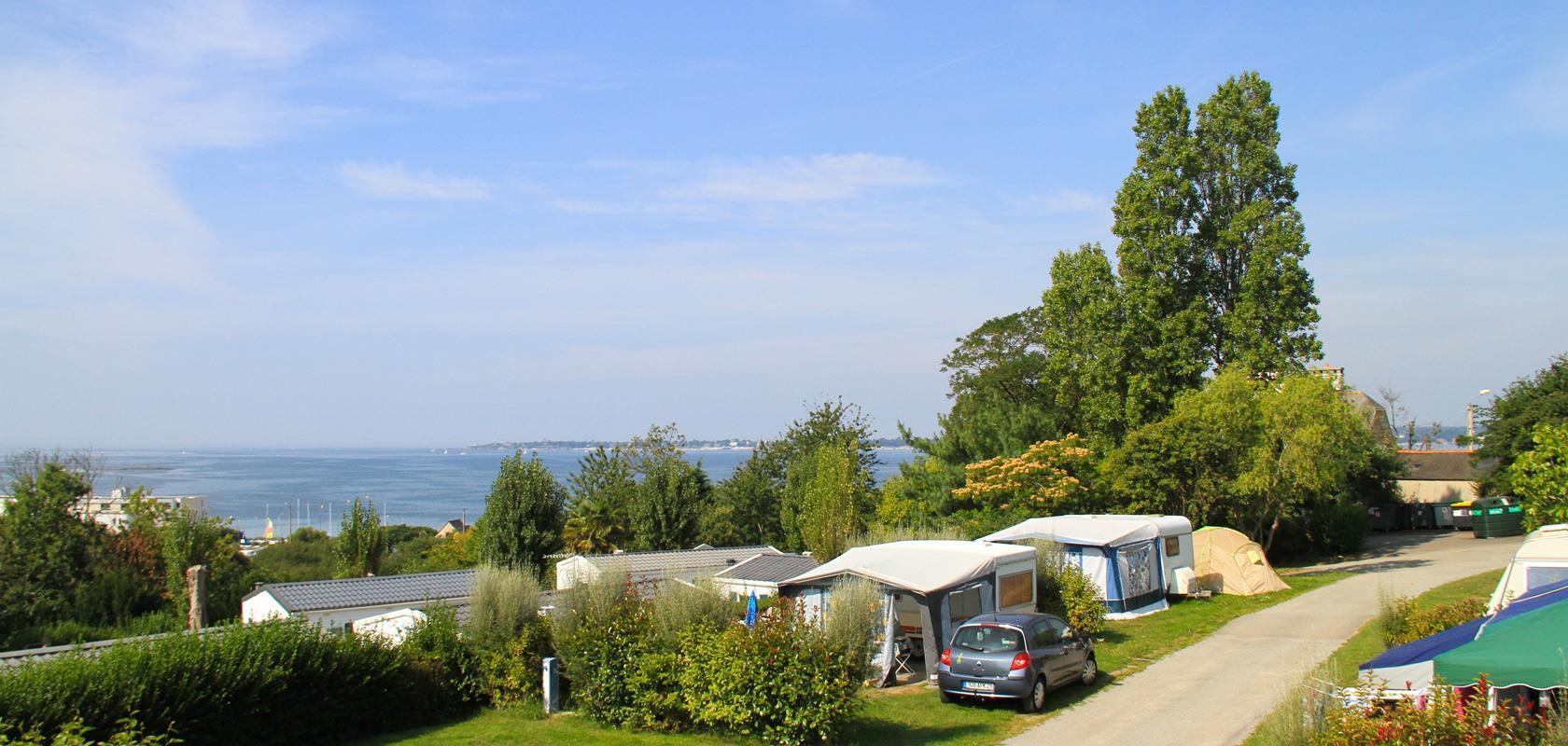 Camping les Sables Blancs, Concarneau, Finistère