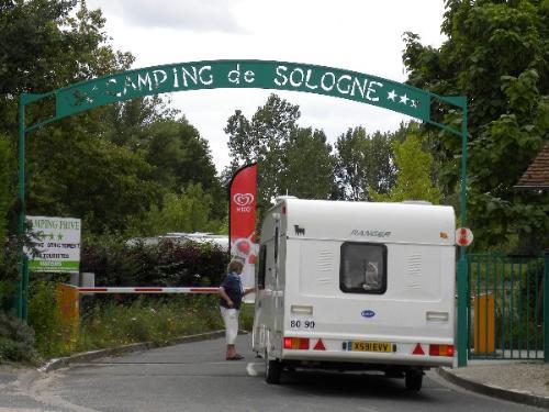 Camping de Sologne, Salbris, Loir-et-Cher