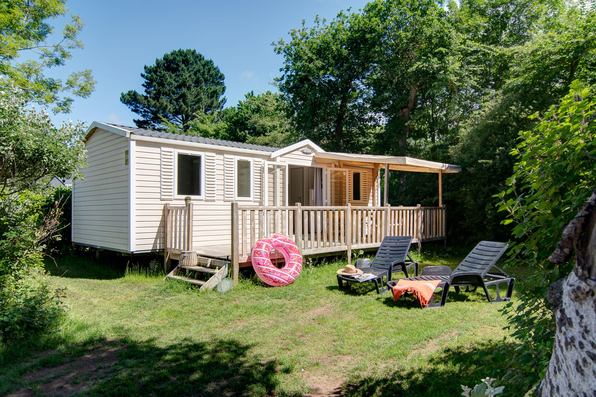Location - Cottage 3 Chambres** - Camping Sandaya Les Deux Fontaines
