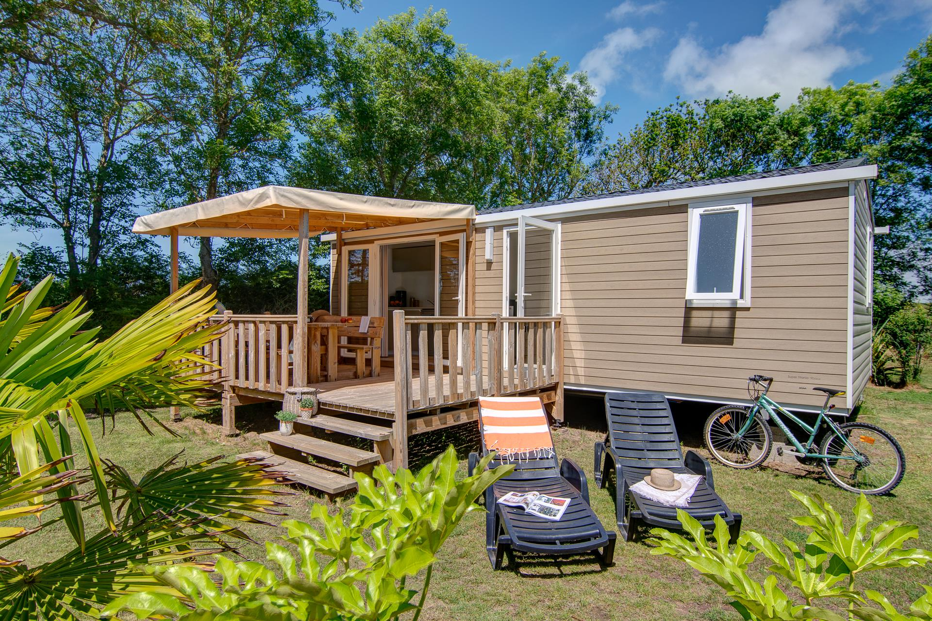 Location - Cottage 2 Chambres**** - Camping Sandaya Les Deux Fontaines