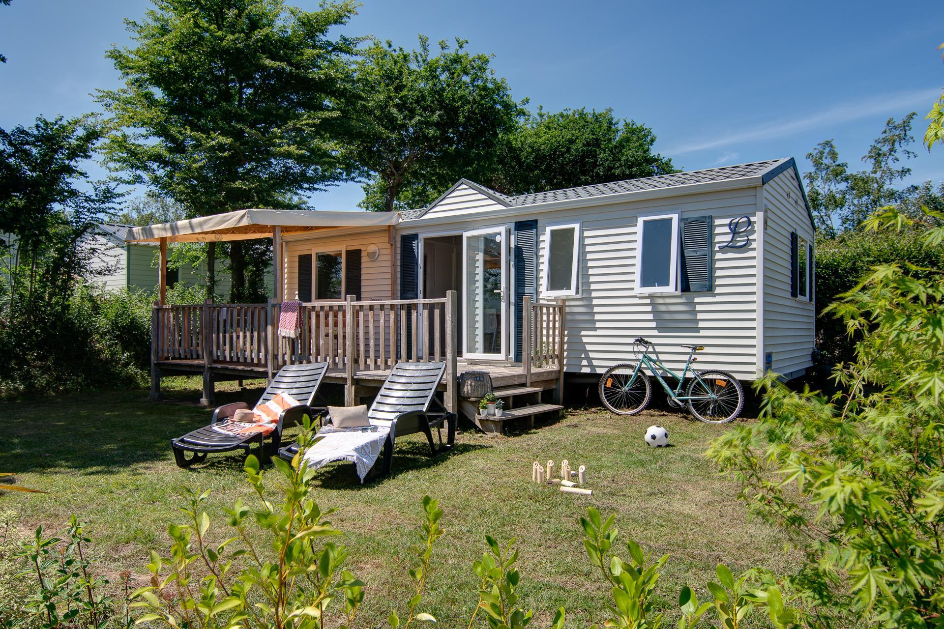 Location - Cottage Glénan 3 Chambres *** - Camping Sandaya Les Deux Fontaines