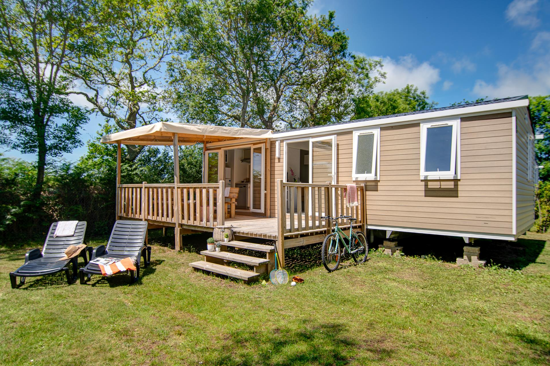 Location - Cottage 3 Chambres**** - Camping Sandaya Les Deux Fontaines
