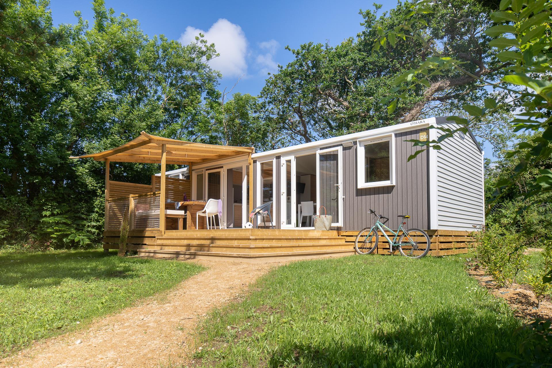 Location - Cottage Naïade 3 Chambres, 2 Salles De Bain + Climatisation Premium - Camping Sandaya Les Deux Fontaines
