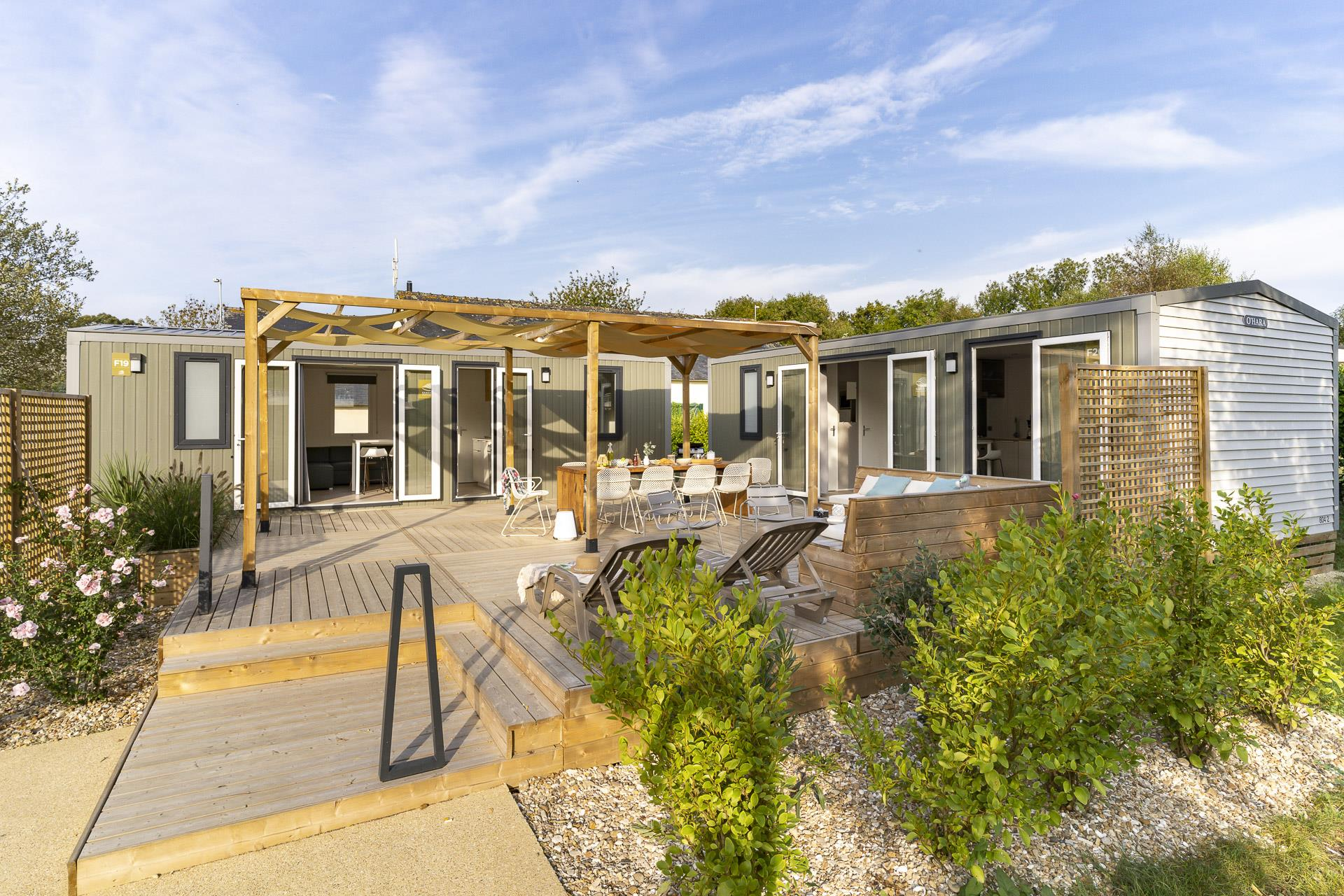 Location - Cottage Friends 5 Chambres **** - Camping Sandaya Les Deux Fontaines