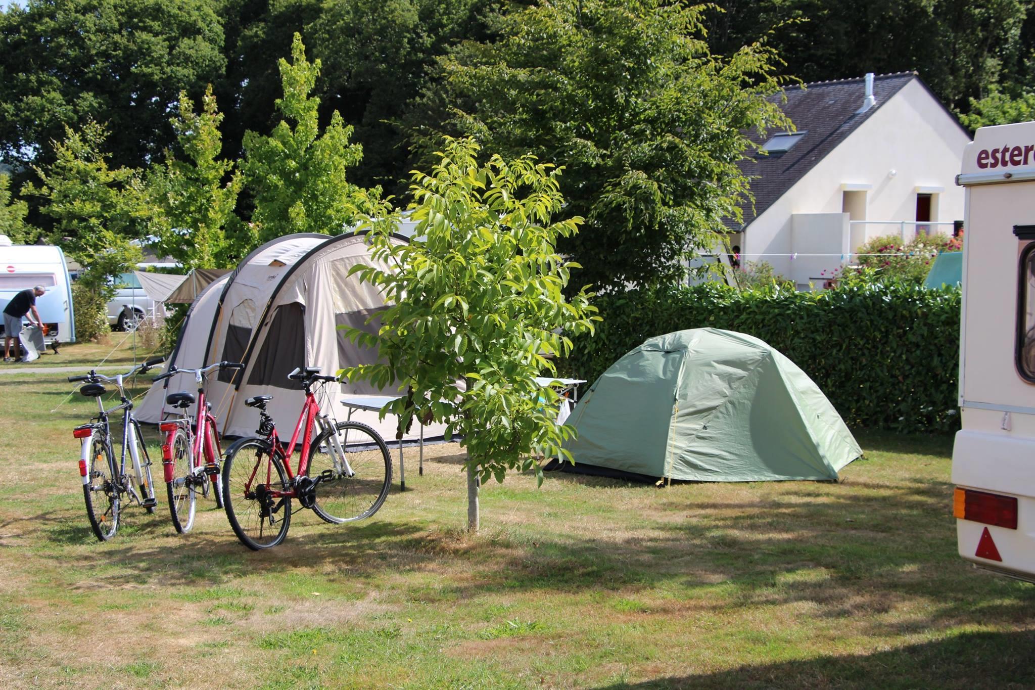 Camping l'Allee, Arradon, Morbihan