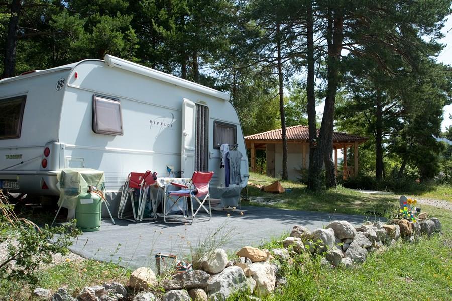 Camping le Haut Chandelalar, Briançonnet, Alpes-Maritimes