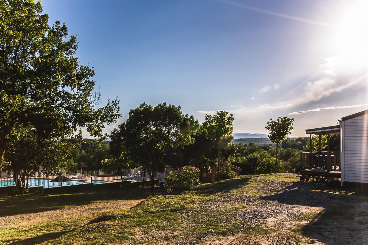Camping la Chapoulière, Ruoms, Ardèche