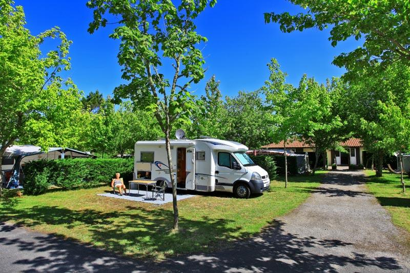 Camping les Acacias, Messanges, Landes