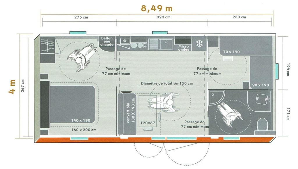 Life Pmr 32M² (2Chambres)