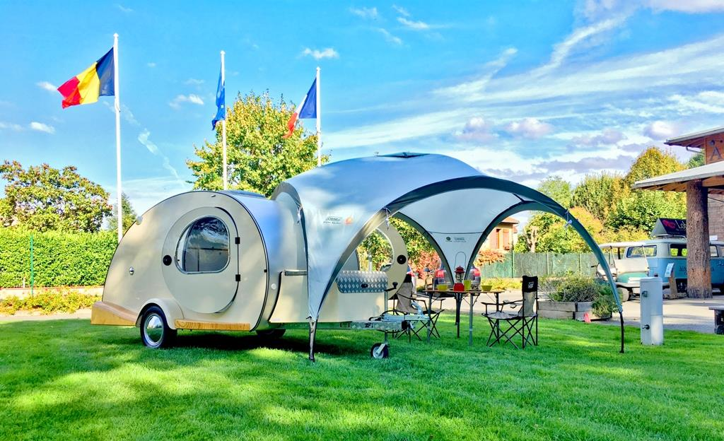 Accommodation - Caravan My Drop - Camping Les Portes Du Beaujolais