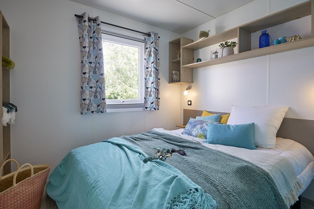 Location - Mobil Home Confort Terenez 2020 Avec Tv Dimanche Au Dimanche- 2 Chambres + Terrasse - 4 Pers. - Camping Baie de Térénez