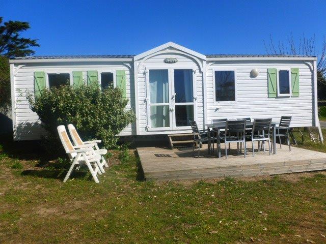 Location - Mobil-Home 3 Chambres Bien Etre Plus - Camping Les Baleines