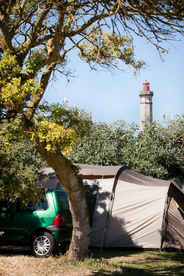 Emplacement - Emplacement Pour 1 Voiture + 1 Tente - Camping Les Baleines