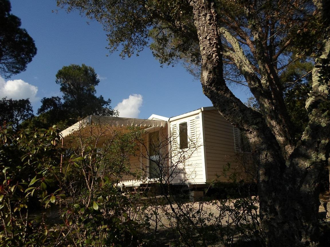 Location - Cottage B - 2 Chambres - Climatisation - 24-M² À 28M² - Camping Castel Domaine de la Bergerie