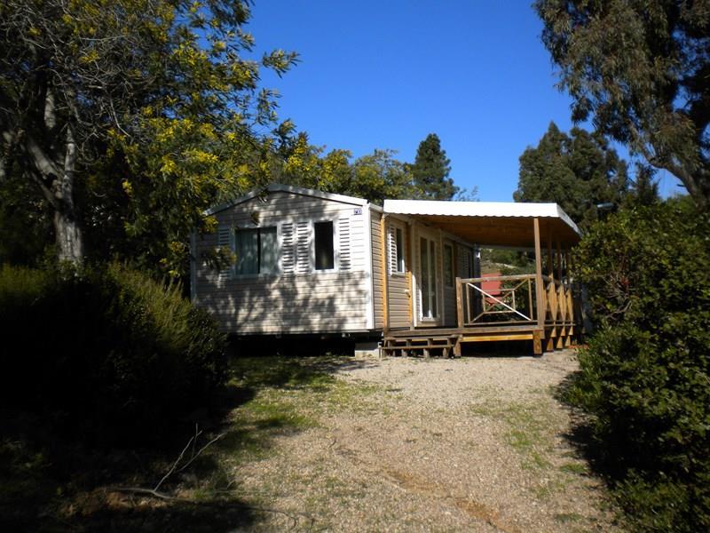 Location - Cottage Espace B - 2 Chambres - Climatisation - 30M² À 32M² - Camping Castel Domaine de la Bergerie