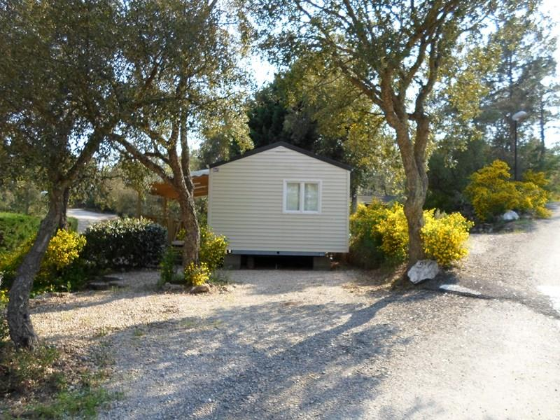 Location - Cottage B - 2 Chambres - Climatisation - 30M² - Camping Castel Domaine de la Bergerie