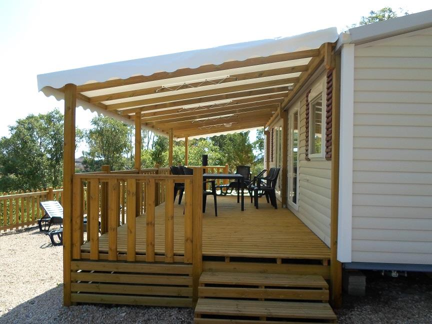Location - Premium - 3 Chambres - 37M² À 40M² - Camping Castel Domaine de la Bergerie