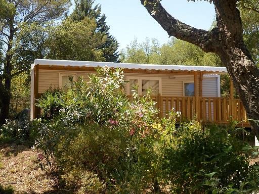 Location - Privilège Espace A - 2 Chambres - 32M² À 40M² - Camping Castel Domaine de la Bergerie