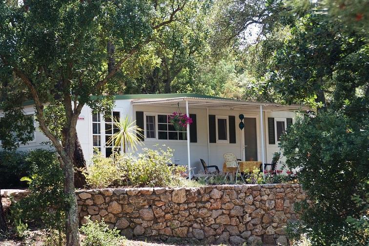 Location - Cottage D - 2 Chambres - Climatisation - 25M² À 26M² - Camping Castel Domaine de la Bergerie