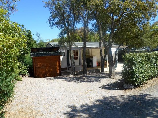 Location - Cottage Espace C - 2 Chambres - Climatisation - 30M² À 36M² - Camping Castel Domaine de la Bergerie